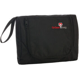 Grüezi-Bag Flatbag Toilettas, black